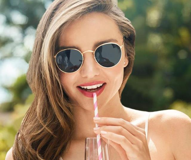 Miranda Kerr swears by lemon water, but it may not be doing much good for her teeth.