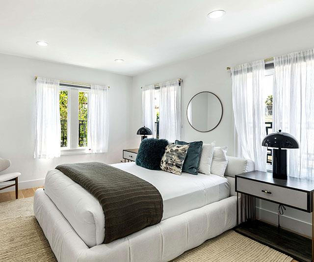The colour palette contains lots of whites and grey - something Meghan was reportedly keen to incorporate into her Windsor home with Prince Harry during renovations.