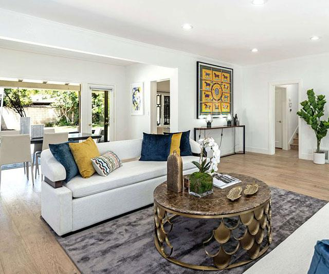 The breathtaking home is situated in an exclusive area of Hancock Park, near Hollywood.