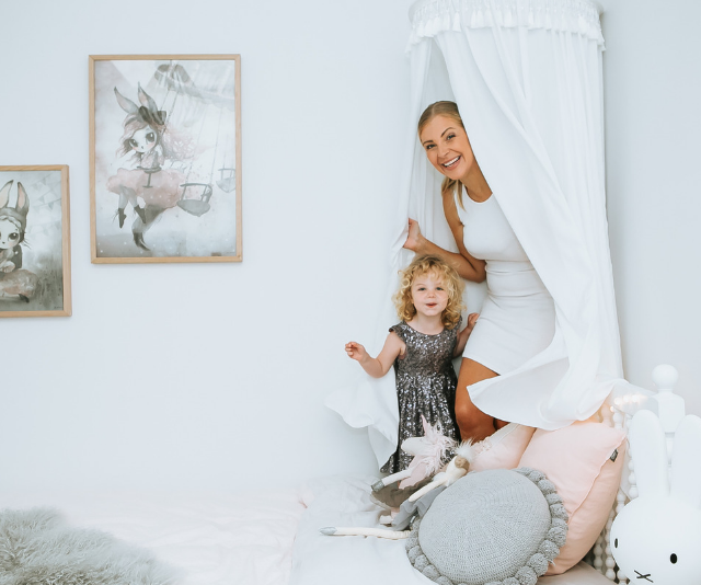 Glamorous mum-of-two, Yummy Mummies star Lorinska Merrington has shared her tips for balancing work and family life with her fans.