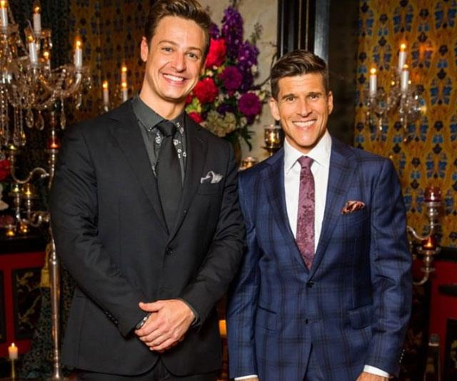 One *Bachelor* fan complained Osher (pictured right, with Matt Agnew) speaks too slowly at the rose ceremonies.