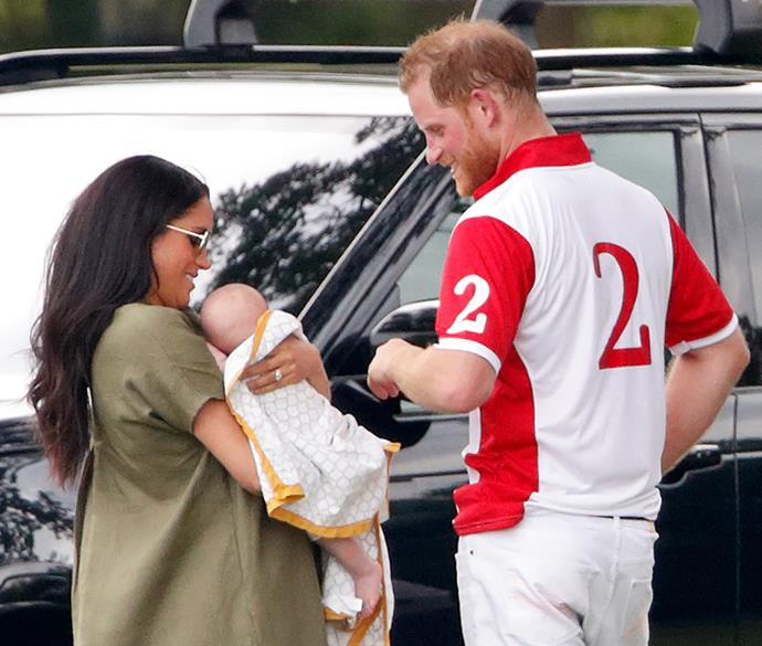 Prince Harry himself has revealed he and Meghan might welcome another brother or sister for baby Archie.