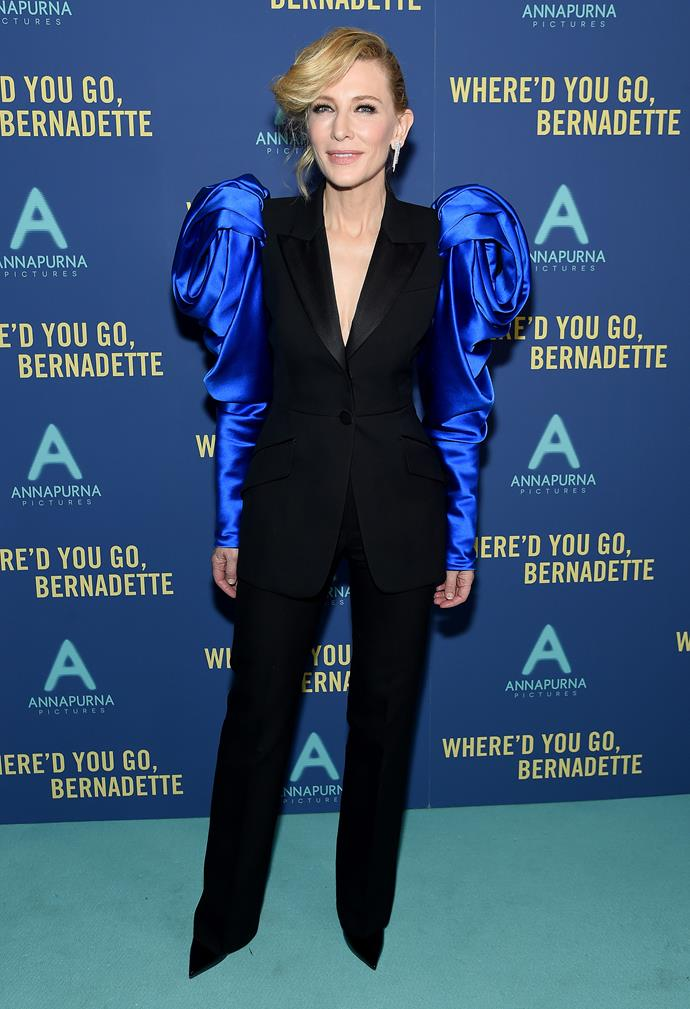 Seriously, how incredible is this look on Cate?