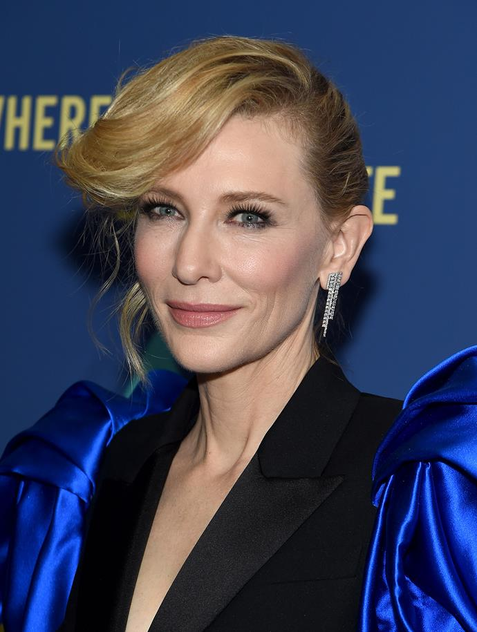 Cate is an ageless fashion icon, and that's that.
