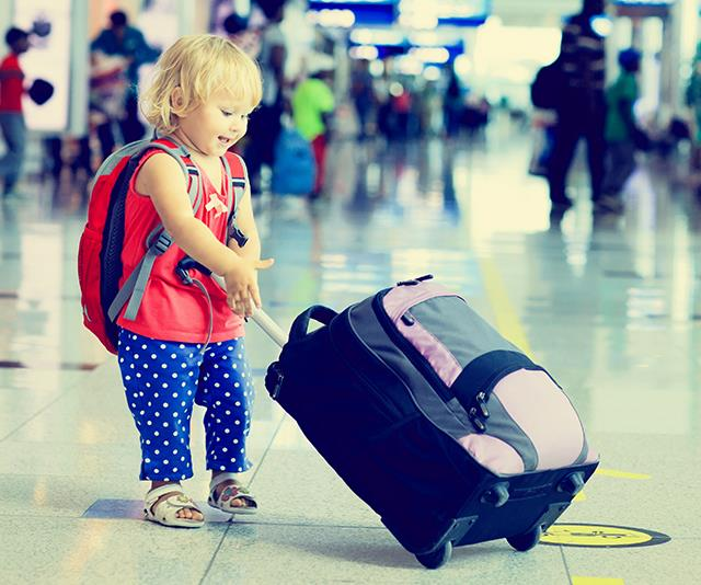 An extra bag packed with extras for the kids to keep them entertained on board definitely comes in handy.