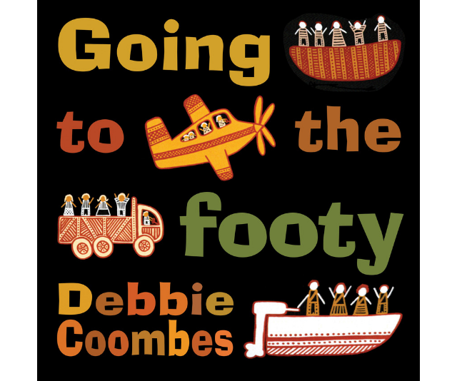 ***Going to the Footy* by Debbie Coombes, $19.99:** Renowned for her delightful depictions of Tiwi Island life, artist and author Debbie Coombes has launched her first children's book, *Going to the Footy*, the perfect gift for Dads this Father's Day. It is out this month through Magabala Books, Australia's Indigenous publisher.
