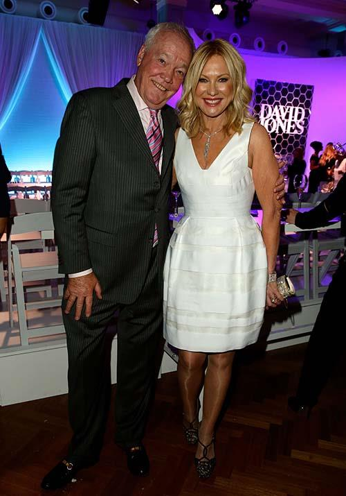 "Pictured attending the David Jones Spring Summer 2013 Collection Launch, KAK and her husband John Kennerley, who sadly [passed away](https://www.nowtolove.com.au/celebrity/celeb-news/kerri-anne-kennerley-husband-john-kennerley-dies-54365|target=""_blank"") in 2019, definitely won the award for cutest couple."