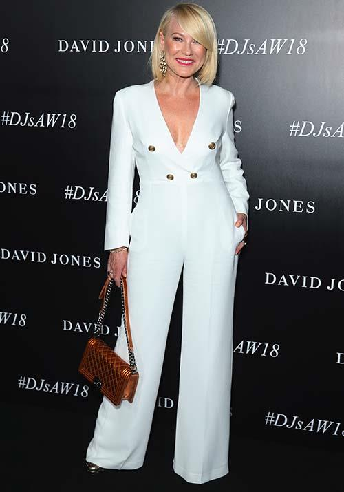 In one of our favourite looks on the TV bombshell, Kerri-Anne took the plunge at the David Jones Autumn Winter 2018 Collections Launch by wearing a daring wide-legged jumpsuit - she looked incredible!
