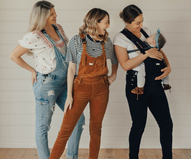 Noosa based founder and mother of two Janneke Williamson launched 'The Mumsie' last year selling thousands of overalls worldwide!