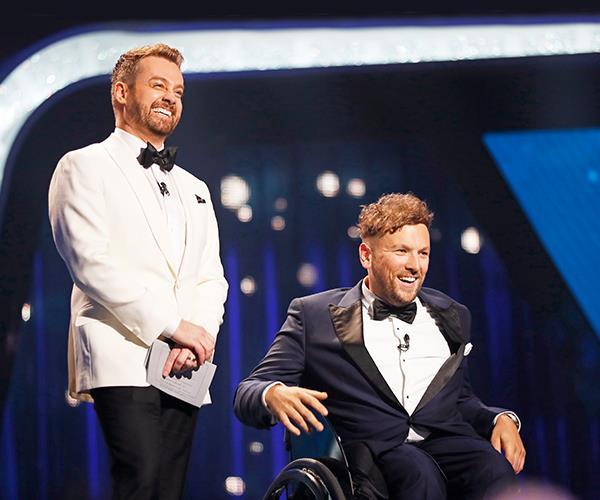 Dylan presented at the 2019 TV WEEK Logies alongside Grant Denyer.