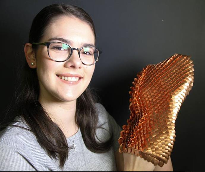 Macinley has developed SMART Armour, designed to protect a woman's healthy breast while receiving radiotherapy for breast cancer.