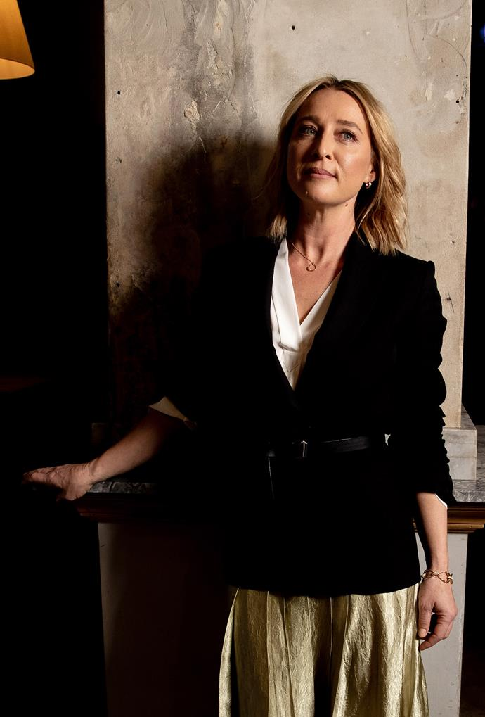 Stunning Aussie actress Asher Keddie has been announced as the new style ambassador for Myer.