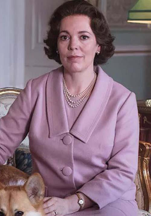 """**Queen Elizabeth - Olivia Colman** <br><br> Like a pro, [Olivia Colman](https://www.nowtolove.com.au/women-of-the-future/the-weekly/claire-foy-the-crown-emmys-51267