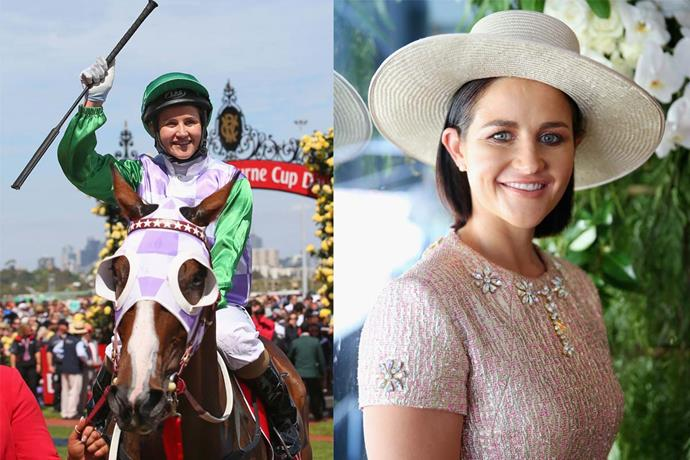 "**Michelle Payne** <br><br> Raised near Ballarat in rural Victoria, Michelle Payne's relentless dreams of greatness saw her become the first female jockey to win the Melbourne Cup in 2015. ""That was just like a dream come true,"" she told *The Weekly* in September 2019. ""It didn't even feel like real life.""  <br><br> Michelle's life story, and the story behind her win, will be documented in the 2019 film *Ride Like a Girl*, where she'll be played by Australian actress Teresa Palmer. She told *AWW*: ""Life's not always easy for anyone, but you've got to persist and work through it. I think that's an important message."" <br><br> *Read more of Michelle Payne's story in the September 2019 issue of* The Australian Women's Weekly."