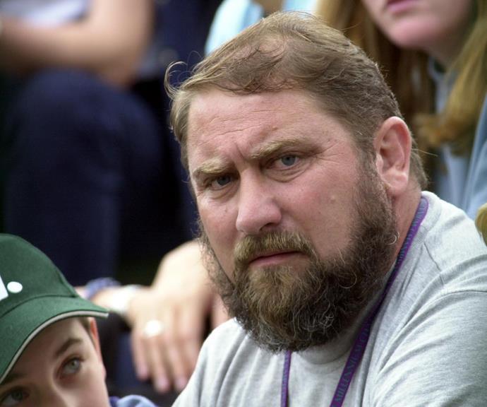 Jelena Dokic's father Damir Dokić.