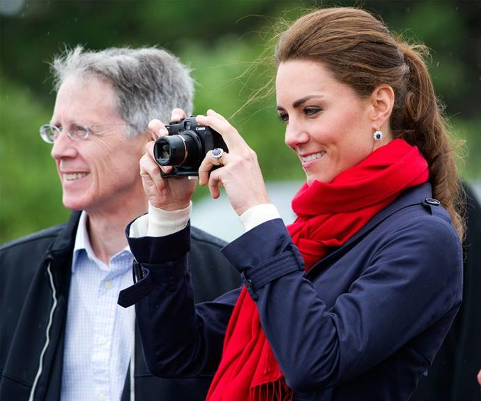 The Duchess of Cambridge has been a keen photographer for years.