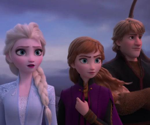 New movies such as *Frozen 2* will air exclusively on Disney+