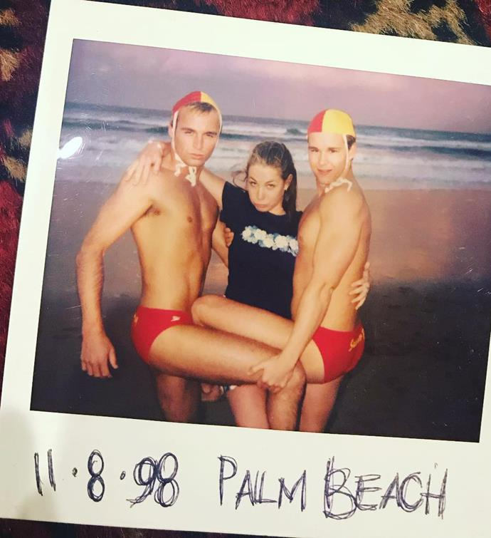 Ben Unwin, Kate Ritchie and Ryan Kwanten pictured in 1998.