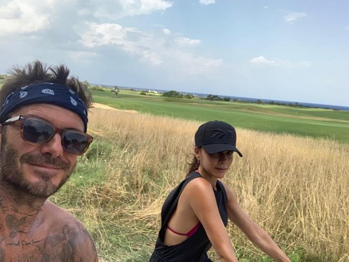 The Beckham's are pros at capturing a good snap!