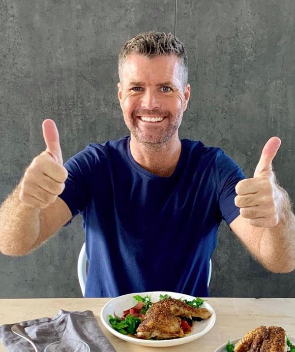 Pete Evans has not drank tap water for almost 30 years.