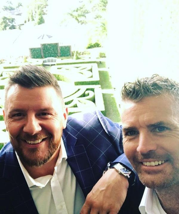 My Kitchen Rules judges, Manu Feildel and Pete Evans.