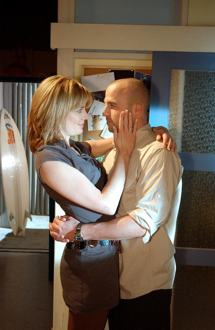 Jesse moved on from Leah with Josie Russell (Laurie Foell).