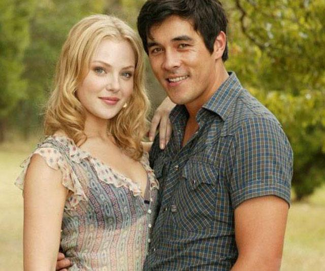 **James Stewart - Then** <br><br> Playing heartthrob tradie Jake Barton, James Stewart stole Australia's hearts – and the heart of co-star Jessica Marais -  from season two onwards.