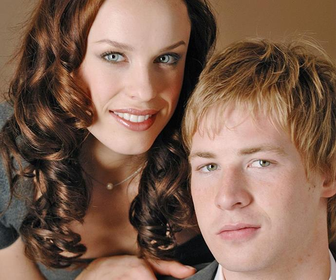 **Angus Mclaren - then** <br><br> Appearing on all six seasons of *Packed To The Rafters* (including a guest star during season five) Angus McLaren found fame as Nathan Rafter. One of his most infamous storylines included cheating on wife Sammy (Jessica McNamee) after being caught up in the temptations of the music industry.
