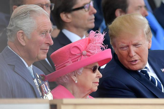 Trump recently visited the UK, making a number of public appearances with the Queen.