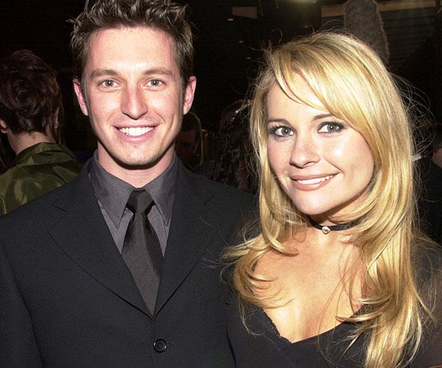 Belinda Emmett pictured with Rove McManus.