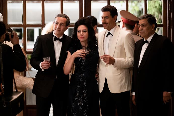 *The Spy* starring Sacha Baron Cohen lands September 6th.