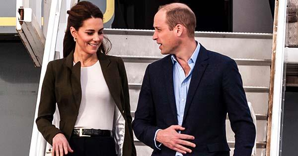 Prince William & Kate Middleton touch down in Balmoral | Australian Women's Weekly
