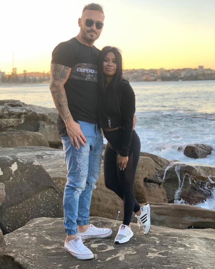 Cyrell and Eden's baby is due in February 2020.