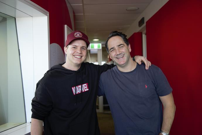 Johnny caught up with Wippa this morning.