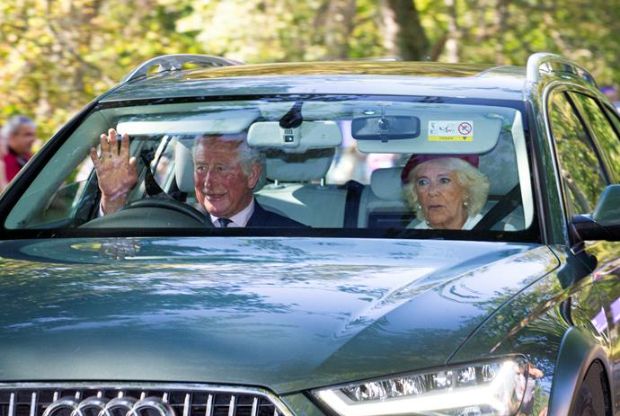 Prince Charles and Camilla also joined the royal crew.