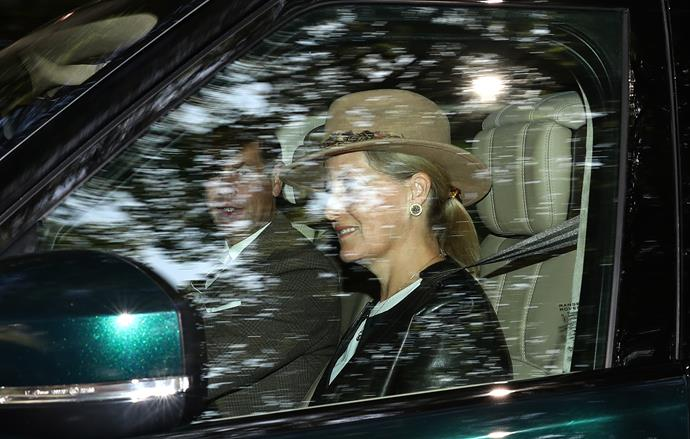 We're loving Sophie's brown hat!
