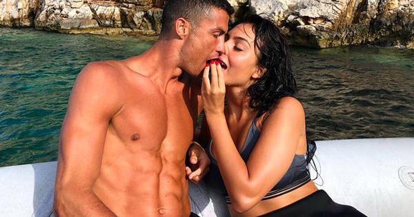 Cristiano Ronaldo's girlfriend Gina Rodriguez wears lingerie every night | Now To Love