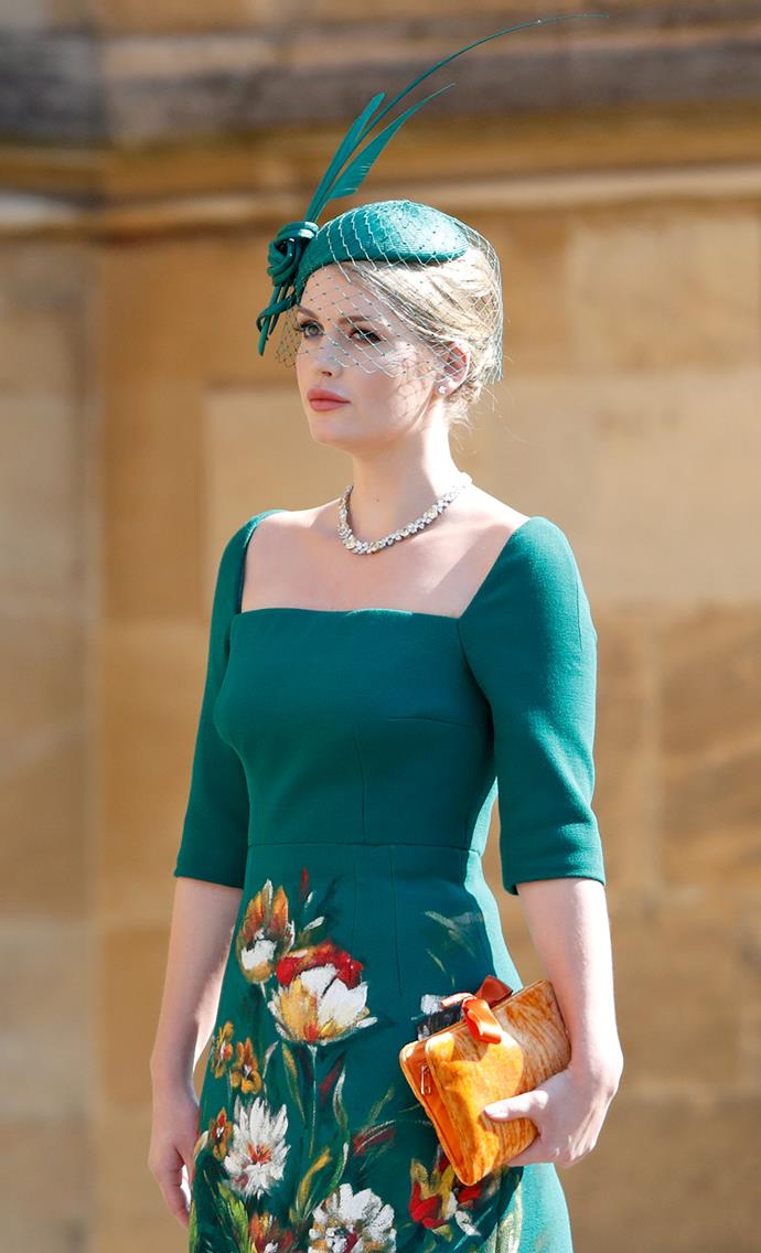 And we're obsessed with Lady Kitty Spencer's zesty accessory that brightened up her royal wedding outfit in 2018!