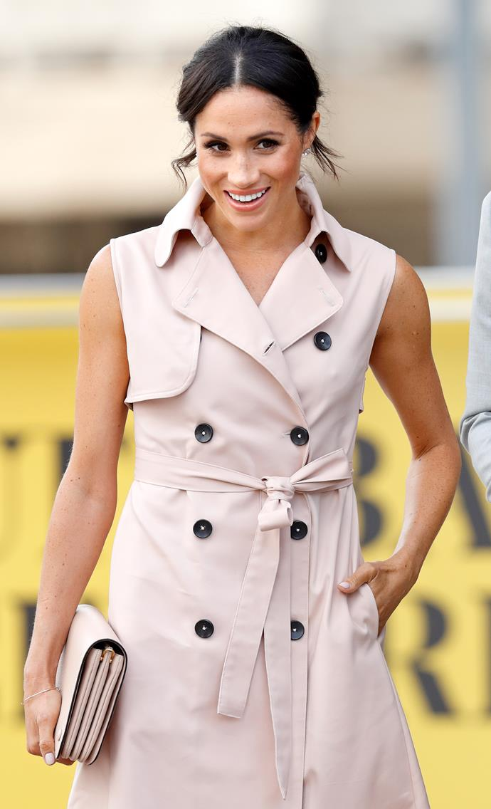 And Meghan's on-point pink looks always have us ogling.