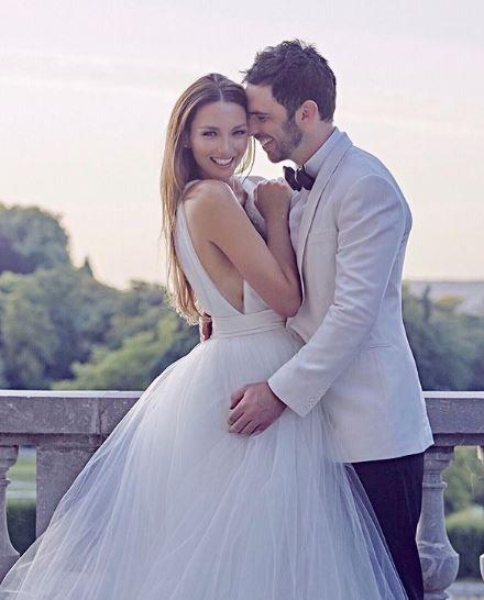 Ricki-Lee and Richard married in France in 2015.