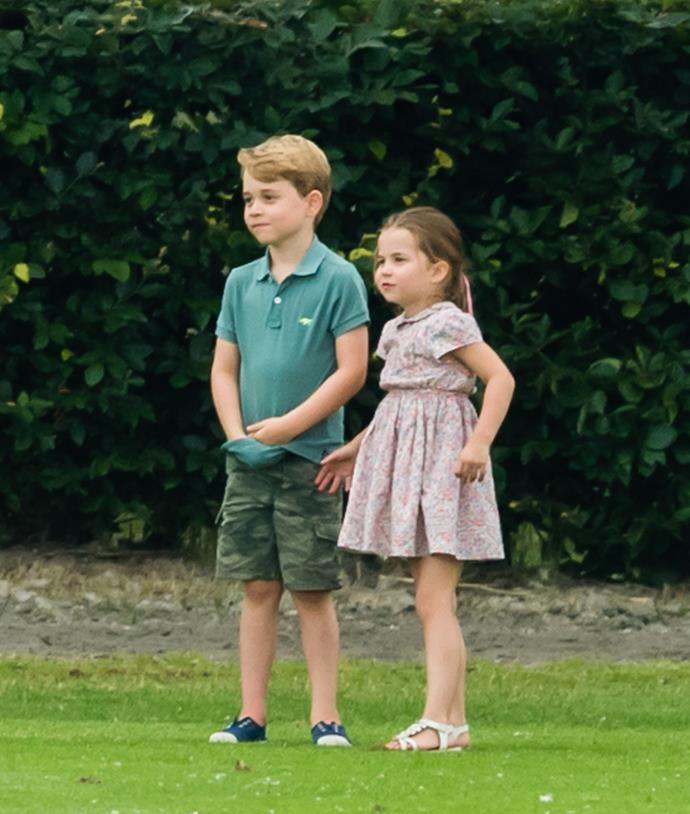 Princess Charlotte is excited to start school alongside her big brother.