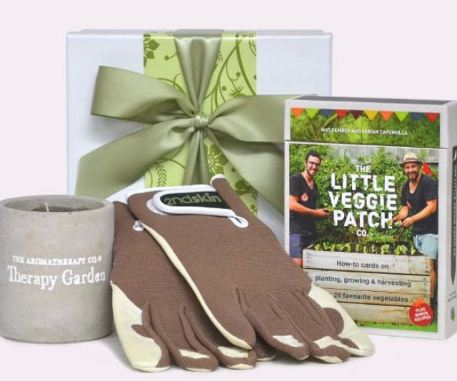 """His Garden Patch $75.00 from [Creative Hampers.](https://www.creativehampers.com.au/his-garden-patch target=""""_blank"""" rel=""""nofollow"""")"""