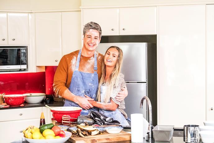 Chelsie + Matt = the recipe for romance.