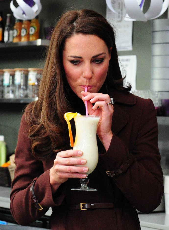 We're keen to try Duchess Catherine's favourite cocktail now.