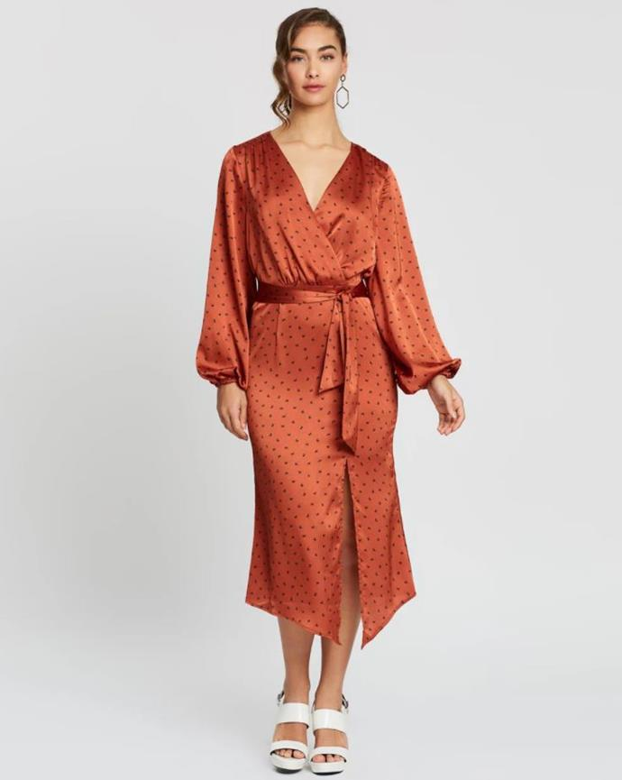 "We love this gorgeous Finders Keepers dress, which is available via The Iconic for $179.95. Buy it [here](https://www.theiconic.com.au/emilia-long-sleeve-dress-874955.html|target=""_blank""