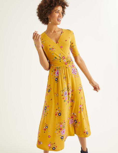 "If you're after a more casual summery style, this Boden jersey midi dress is the one - available online for $170. Buy it [here](https://www.bodenclothing.com.au/en-au/carrie-jersey-midi-dress-saffron-daydream/sty-j0463-dyl|target=""_blank""