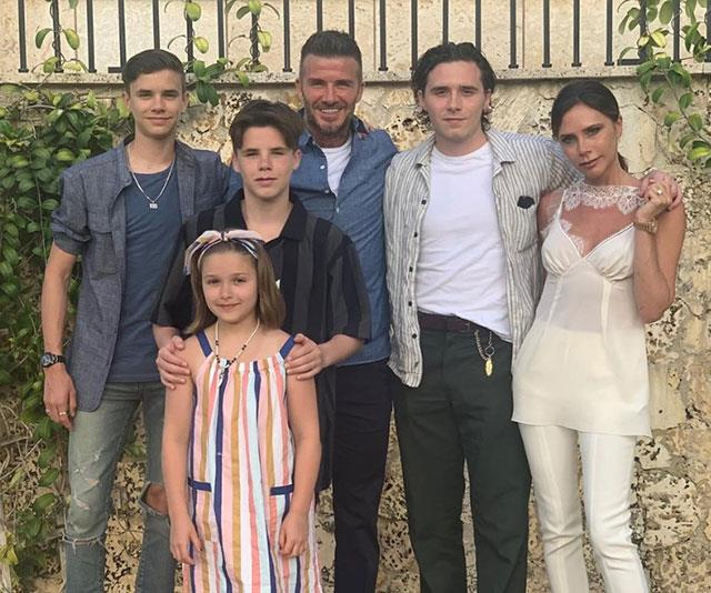 **David Beckham** <br><br> Is there a more genetically blessed family than the Beckhams? And if their good looks aren't enough, David seems like the ultimate loving dad. Adopt us. Please.