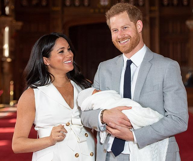 Meghan, Harry and baby Archie are Africa-bound soon!