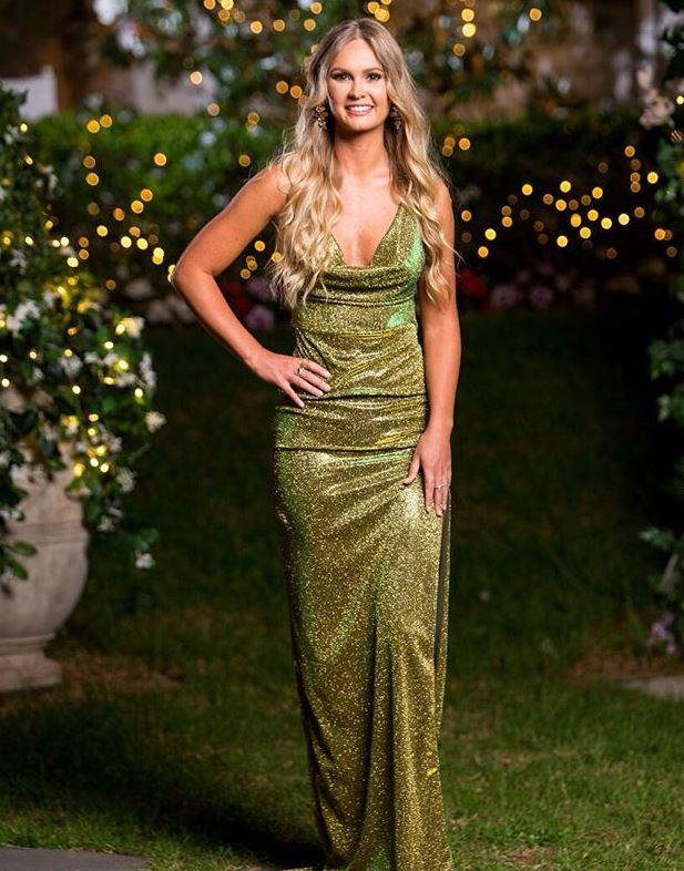 "Episode nine was a corker, what with [*that* Rachael scandal](https://www.nowtolove.com.au/reality-tv/the-bachelor-australia/bachelor-2019-rachael-producer-fake-57809|target=""_blank"") and a shock double elimination, but TBH, Chelsie's slinky sparkly green dress outdid it all. She is *rocking* it."