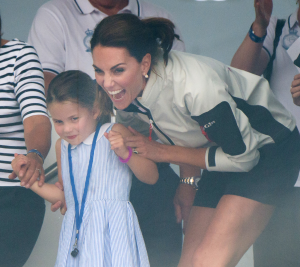 Duchess Catherine and Princess Charlotte share a very special bond.